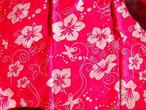 SLEVA kupon 110x180cm indická bavlna - růžová