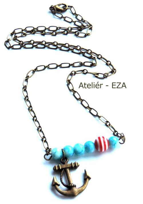 Námořnický náhrdelník - Kotva
