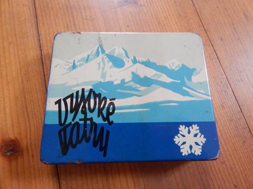 Vysoké Tatry - plechová krabička