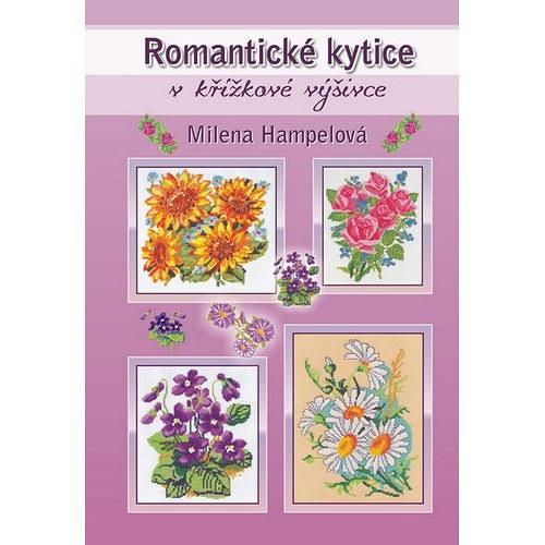 Kniha Romantické Kytice v křížkové výšivce
