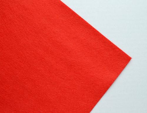 Plsť metráž červená (šířka 45 cm) (barva č.15)