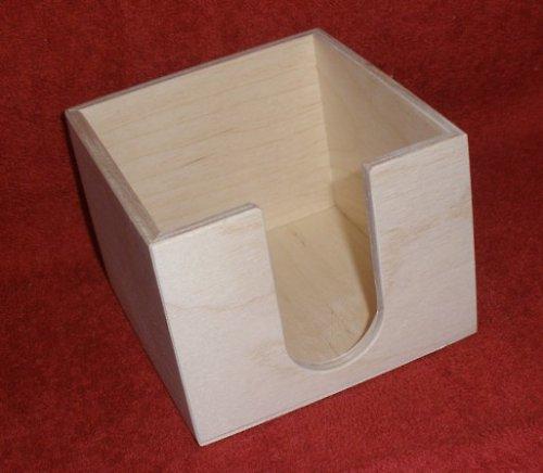 Zásobník na poznámkové bločky 10,7x10,7x8,3cm