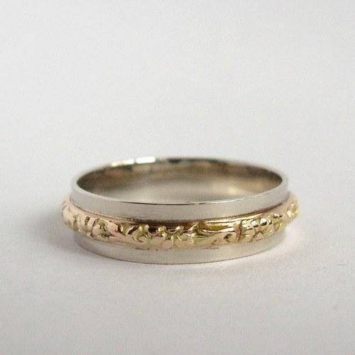 Dva v jednom (zlatý prsten)