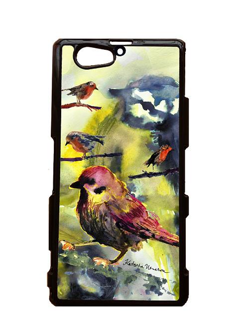 Ptačí - Sony Xperia Z2 Mini Kryt