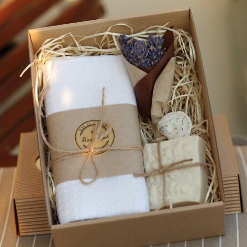PŘÍRODNÍ POHLAZENÍ bílé - dárková krabička