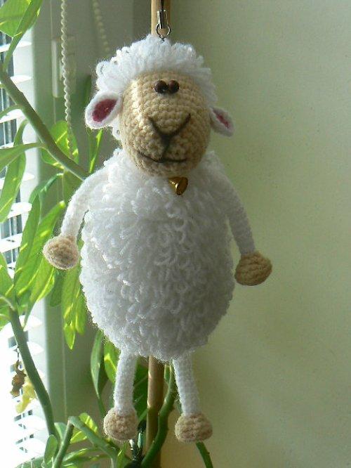 Návod na háčkovanou ovečku