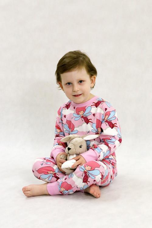 Střih na dětské dvoudílné pyžamko vel.80-134 (71)