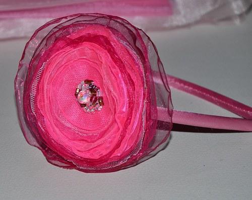 "Čelenka \""Pink\"""
