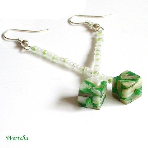 Zelená kostička