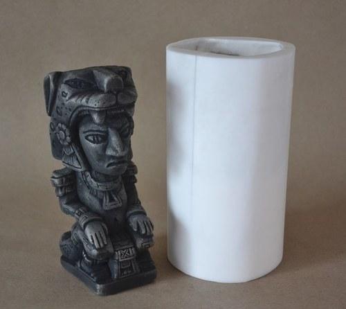 Forma na svíčky Mayská soška velká, výška 17,5cm