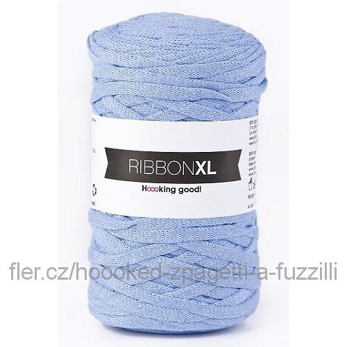 Hoooked RibbonXL - světle modrá (130 m)