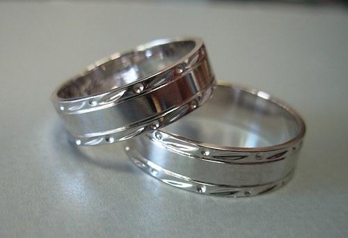 Snubní prsteny č.6