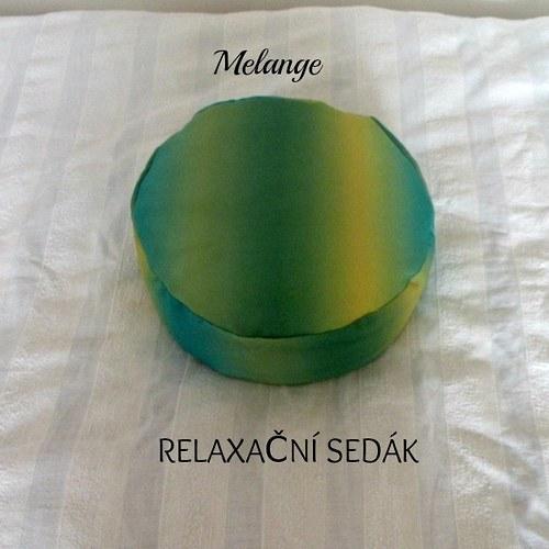 RElaxační-meditační sedák-duhový
