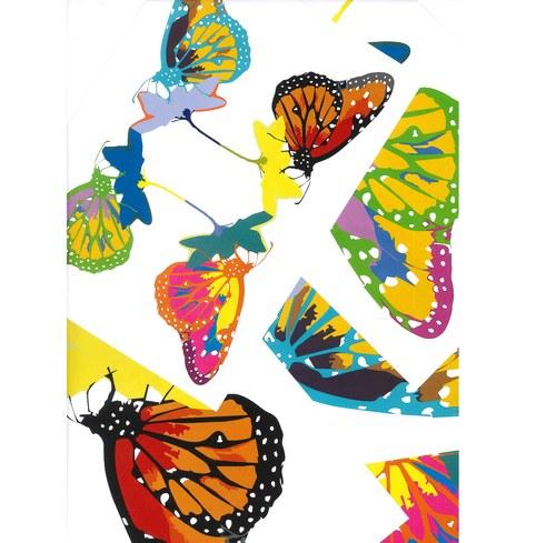 Motýlci pro radost - koláž