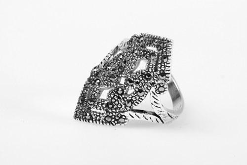 Prstýnek stříbro Churukí