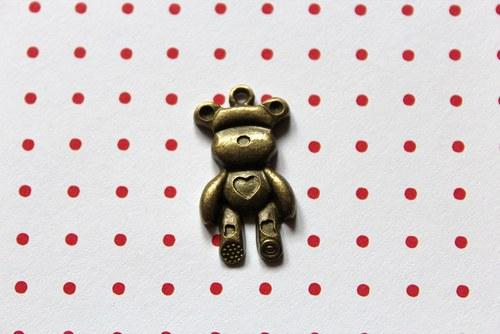kovoví medvídci - bronz