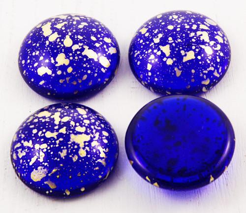 2ks Crystal Royal Blue Picasso Terakota Zlatý Déšť