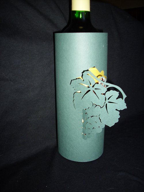 Vinný přebal III. - hrozen vína