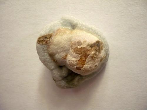 Hadí achát - chalcedonová růže 27 mm, č.17