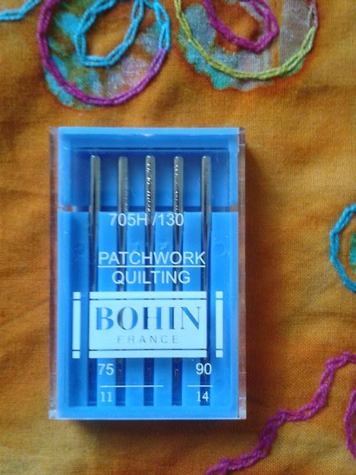 Strojové jehly Bohin