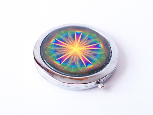 Kosmetické zrcátko s Magickou mandalou 143