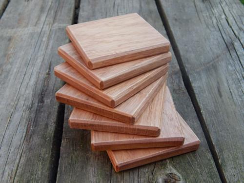 Dřevěné podtácky
