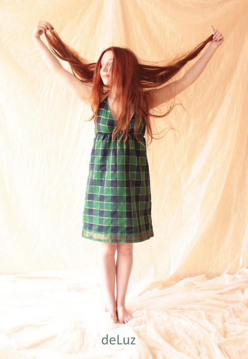 Šaty Scottish Fairy XS/S...velká sleva