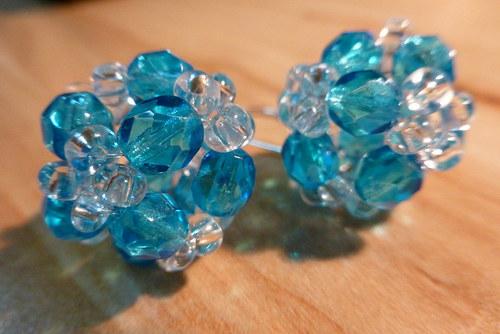 Azurově modré