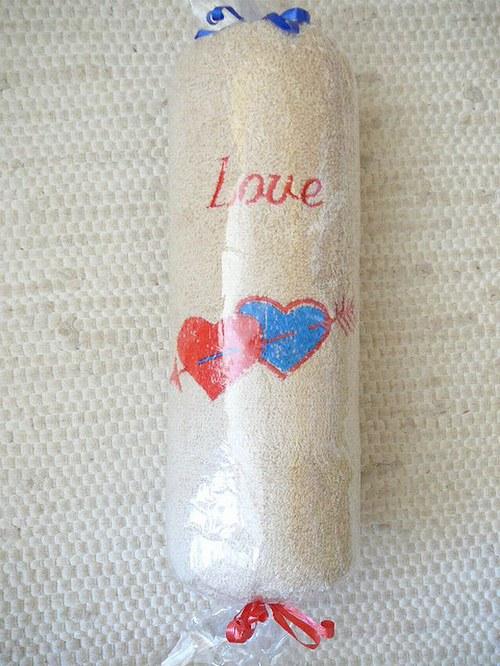 Ručník pro zamilované