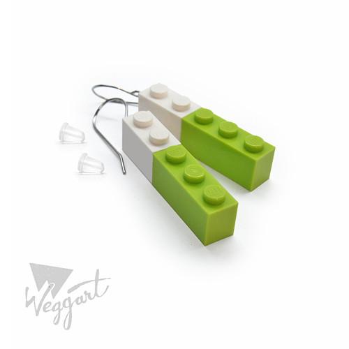 Lego Towers náušnice / Chirurgická ocel