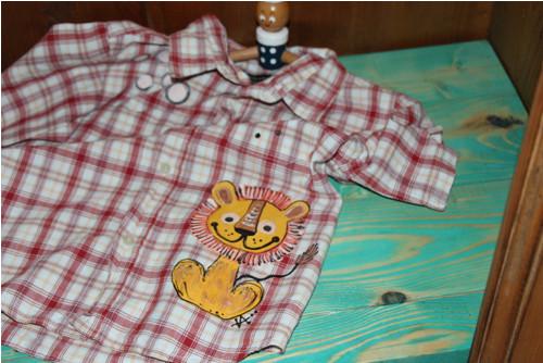 Košile pro malého lva RECY vel. 110