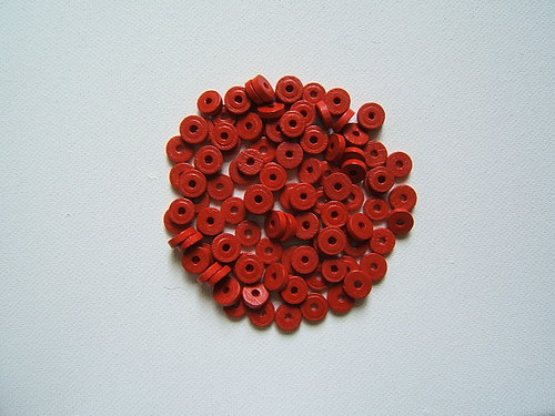 Dřevěné korálky 8x2,5 mm 100ks