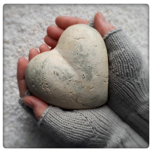 Na kameni kámen...šedé návleky 19 cm