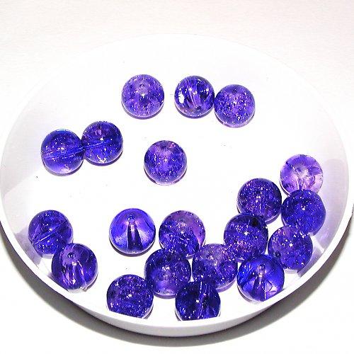 Práskané fialové 10 ks
