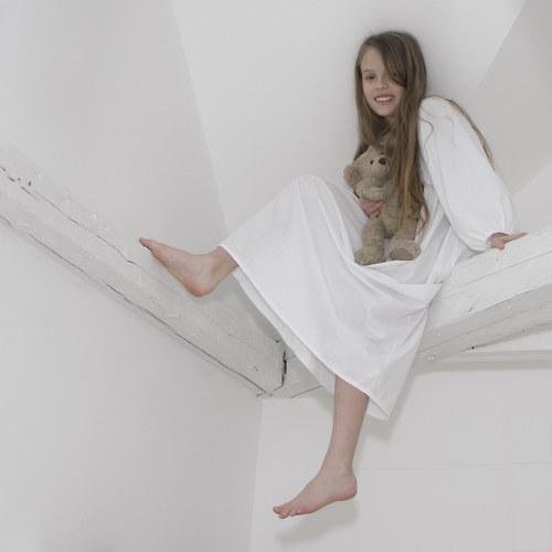BíleBílá košulenka pro romantické snění