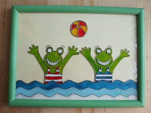 Cachtající se žabky