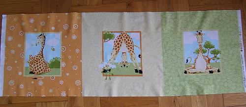 Panel -žirafy