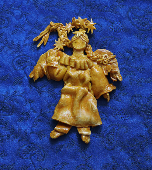 Anděl z Vizovického těsta