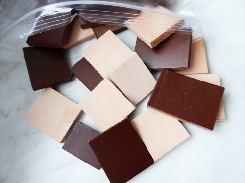 Kůže pro další tvoření čtverečky/obdélníčky