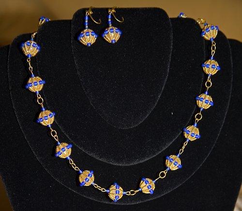 Souprava náhrdelník a náušnice
