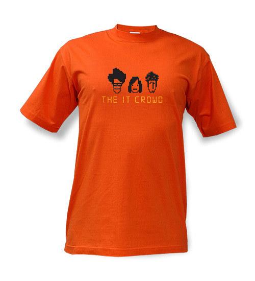 The IT Crowd - tričko s potiskem
