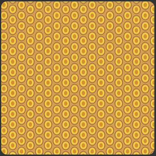 Látka Oval Elements Mustard 921