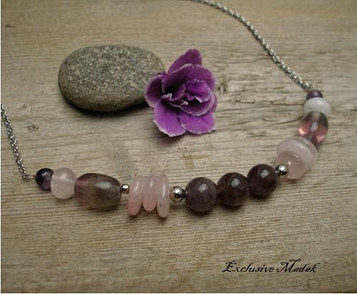 Lorienne ..... náhrdelník s minerály