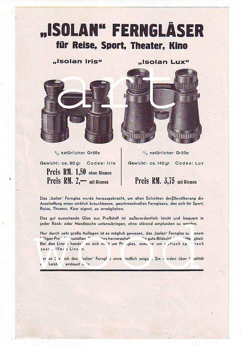 Reklama na dalekohled  - číslo 159