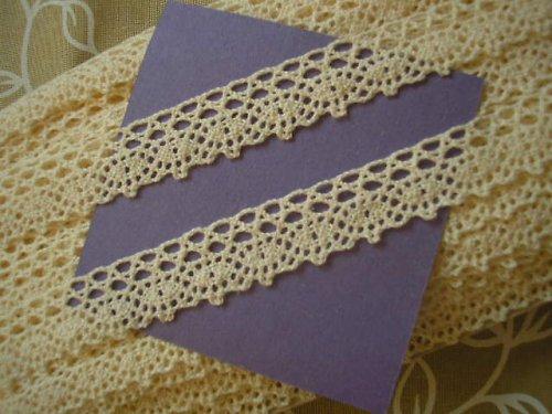 krajka - paličkovaná - 100% bavlna