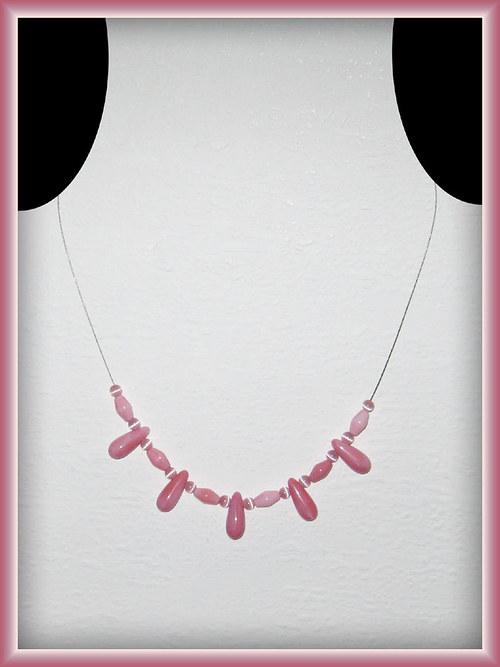 Růžové kapky