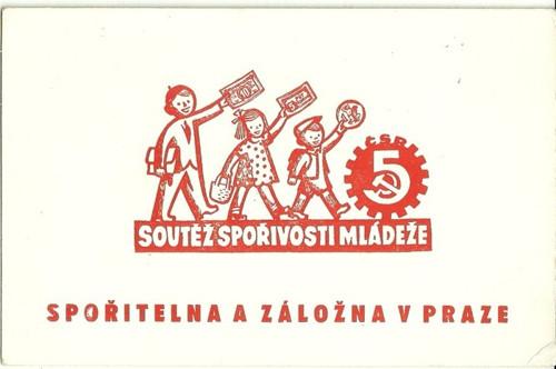 Reklamní savý papír piják Spořitelna Praha