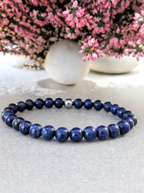 Minerální náramek / lapis lazuli /