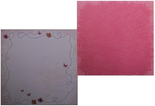 Oboustranná čtvrtka 30,5x30,5 cm