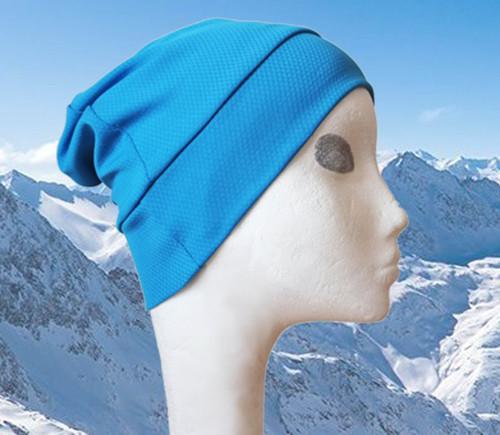 Čepice Ice modrý tyrkys